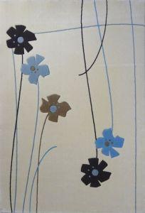 TUFTY TRENDY 160*235 049 BLUE