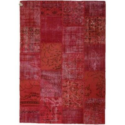 PATCHWORK 160*230 92350 RED