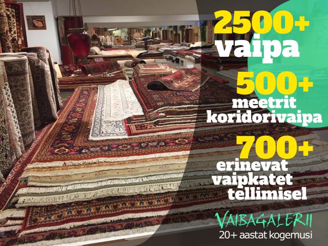 Vaibagalerii - suurima valikuga vaibapood Eestis